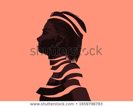 Nők jólét szellemi arc egészség fiatal Stock fotó © solarseven