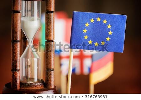 Effondrement européenne Union pays concept destruction Photo stock © Kotenko