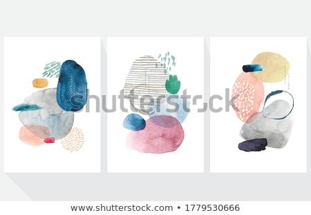 Fluid watercolor art Stock photo © kostins
