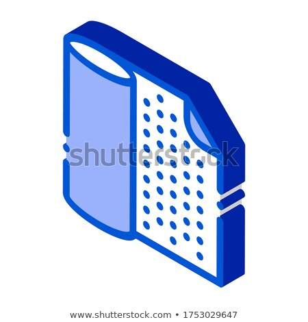 Waterproof Material Napkin isometric icon vector illustration Stock photo © pikepicture