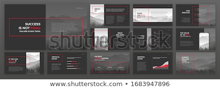 Mountain illustration design template Stock photo © Ggs