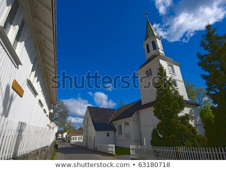 church, Risor, Norway Stock photo © phbcz