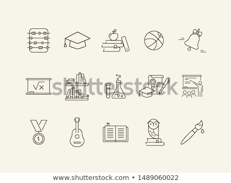 School objects Abacus Stock photo © cidepix
