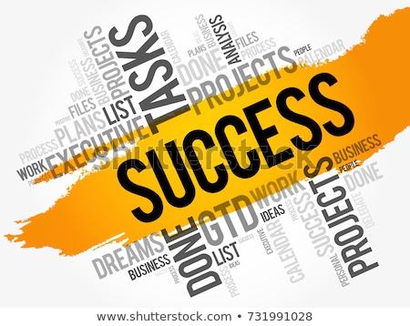 equipo · de · negocios · palabra · collage · negocios · oficina · resumen - foto stock © Paha_L