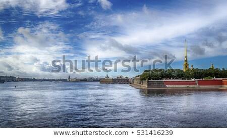 Sint-Pietersbasiliek · Rome · Italië · rivier · kerk · brug - stockfoto © ca2hill