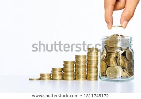 多くの コイン 浅い ビジネス お金 ストックフォト © dsmsoft