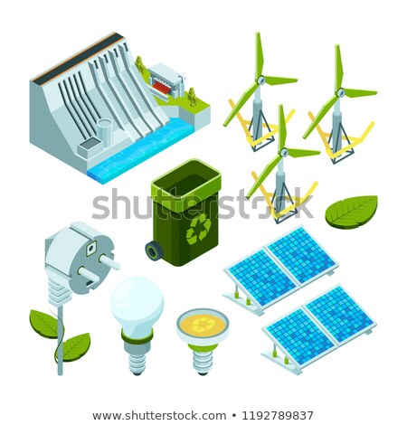 various sources of energy vector illustration  Stock photo © Slobelix