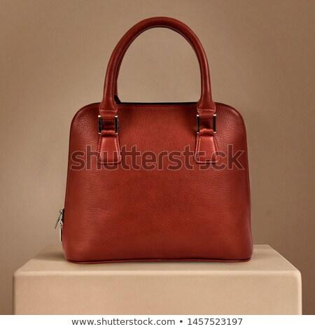 red women bag stock photo © olira