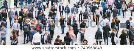 Large crowd of people stock photo © 5xinc