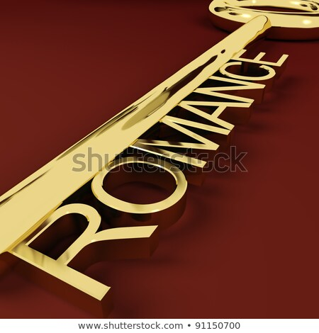 Love Key Representing Adoration And Romance Stock photo © stuartmiles