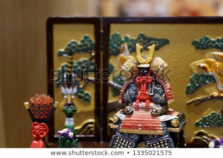 szamuráj · kéz · rajz - stock fotó © jet_spider