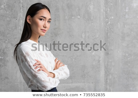 Portrait of a young woman laborer Stock photo © photography33