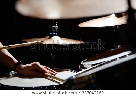Cool male drummer Stock photo © photography33