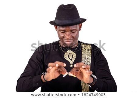 Retrato quebrado empresário branco negócio dinheiro Foto stock © wavebreak_media