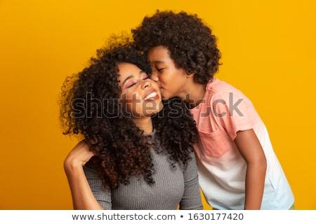 son kissing his mother  stock photo © oneinamillion