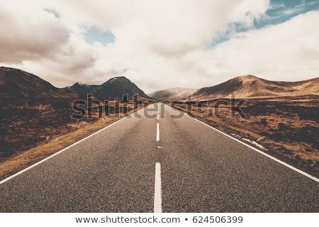 Stock photo: Open Road