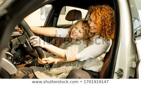 女性 · 新しい車 · ビジネスマン · スーツ · 女性 - ストックフォト © wavebreak_media