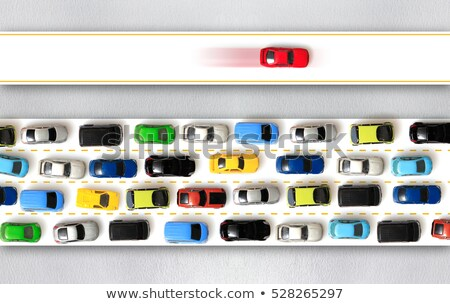 Fast And Slow Lanes Stock photo © Lightsource