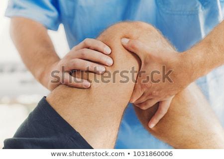 Ludzi kolano ból ulga xray ciało Zdjęcia stock © Lightsource