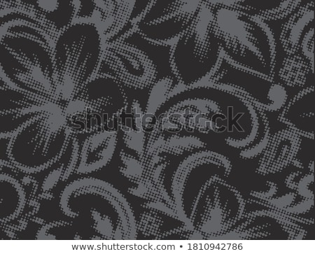 Abstract floral silhouettes stock photo © trinochka