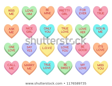 Stock photo: sweethearts