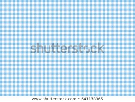 Stok fotoğraf: Mavi · beyaz · masa · örtüsü · model · soyut · arka · plan