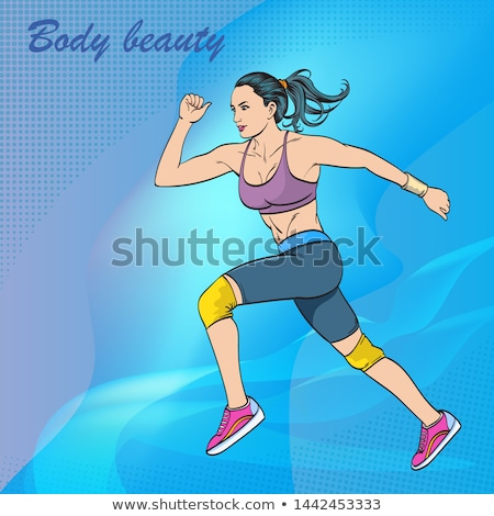Sexy runner. Stock photo © Fisher