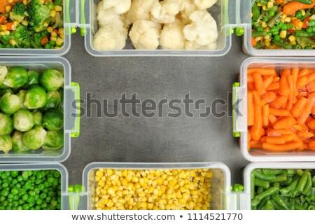 農業の ストレージ 黄色 金属 線 ストックフォト © jrstock