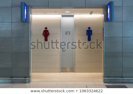 public bathroom in an airport Stock photo © pxhidalgo