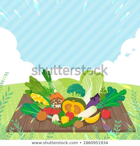 Paprika under sky Stock photo © varts