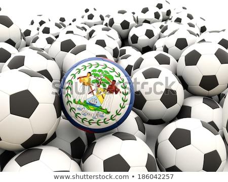 futball · zászló · Belize · rendszeres · golyók · nyár - stock fotó © mikhailmishchenko