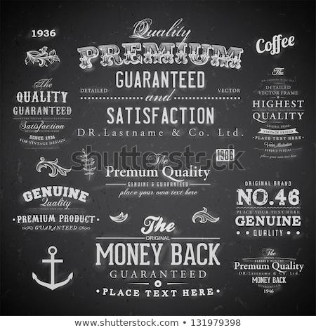 Money Back Guarantee Chalk Illustration Stock photo © kbuntu