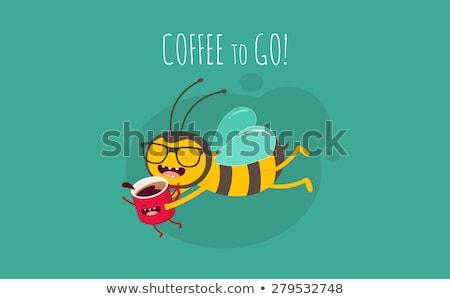 abelha · trabalhador · tempo · trabalhando · mel - foto stock © rpcreative