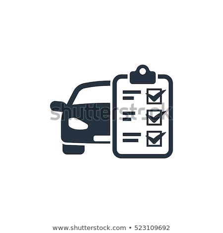 ストックフォト: マスター · メカニック · チェック · 車 · エンジン