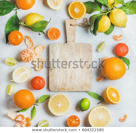 Clean freshly cut wooden plank stock photo © ChilliProductions