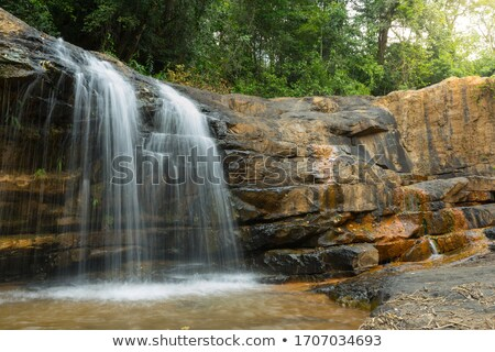 small water fall stock photo © ankarb