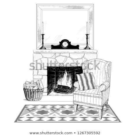 candlestick mantel Stock photo © perysty