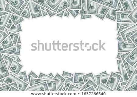 Vinte dólares moeda dólar notas Foto stock © vanessavr