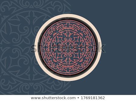パターン 伝統的な スタイル カザフスタン デザイン ストックフォト © Yuran