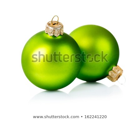 iki · bağbozumu · altın · Noel · beyaz - stok fotoğraf © Rob_Stark