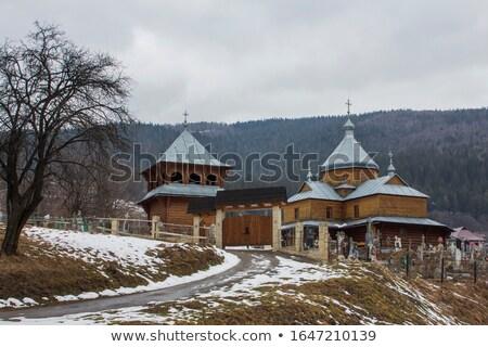 предположение девственница католический Церкви Калгари небе Сток-фото © benkrut