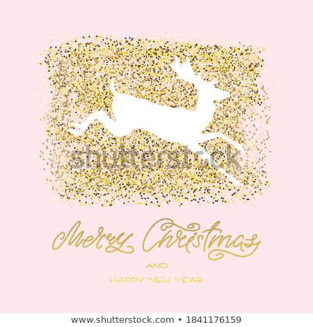 Beautiful winter template card . EPS 8 Stock photo © beholdereye