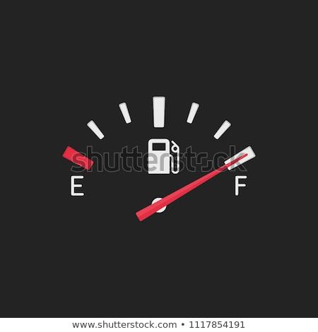 Fuel gauge of a car Stock photo © pixpack