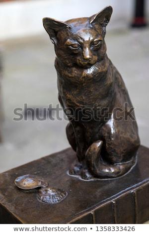 Dr Samuel Johnson Statue in London Stock photo © chrisdorney