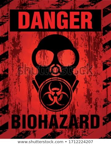 Danger Biohazard Stock photo © idesign