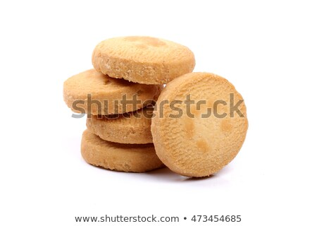 small butter cookies background stock photo © suljo