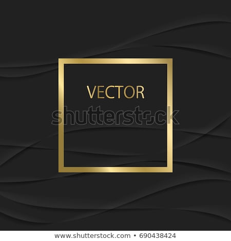gold background with frame 3 vector illustration © Iurii