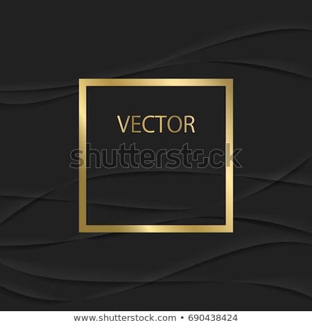 altın · çerçeve · dizayn · sanat · fotoğraf · bağbozumu - stok fotoğraf © Karamio