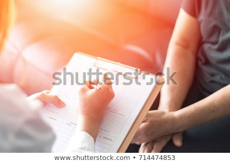 diabetes diagnosis medical concept stock photo © tashatuvango