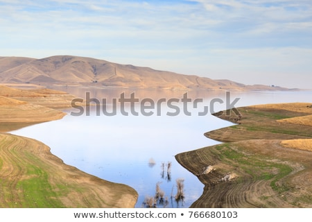 San Luis Reservoir, Merced County, California Stock photo © yhelfman